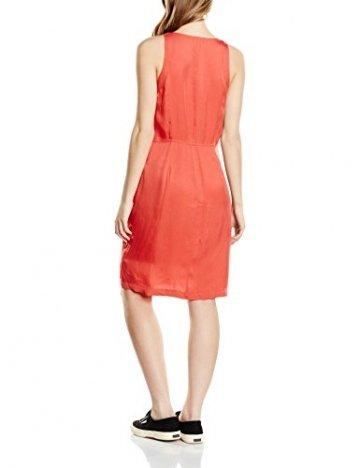 Calvin Klein Jeans Damen Riani Dress s/s Kleid, Rot (Cranberry-PT 064), 34 (Herstellergröße: XS) - 2