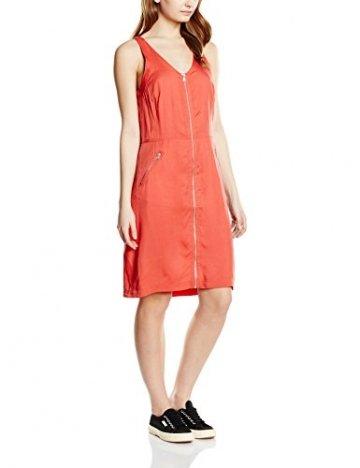 Calvin Klein Jeans Damen Riani Dress s/s Kleid, Rot (Cranberry-PT 064), 34 (Herstellergröße: XS) - 1