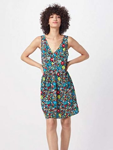 Calvin Klein Jeans Damen Sommerkleid mischfarben XS (34) - 4
