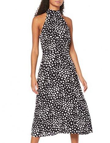 find. Damen sommerkleid damen sommerkleid damen Mdr41137, Schwarz (Black Spot), 52 (Herstellergröße: 24) - 1