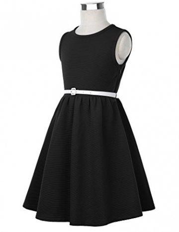 GRACE KARIN Maedchen Party Kleid Sommer Kleid 11-12 Jahre CL10482-1 - 4