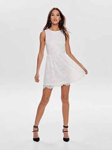 ONLY Damen Kleid ohne Ärmel Spitzen MCloud Dancer - 6