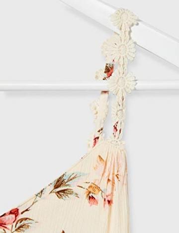 ONLY Damen ONLKARMEN Anne S/L Short Dress WVN NOOS Kleid, AOP:Rose Flower Creme Brûlée, 40 - 3