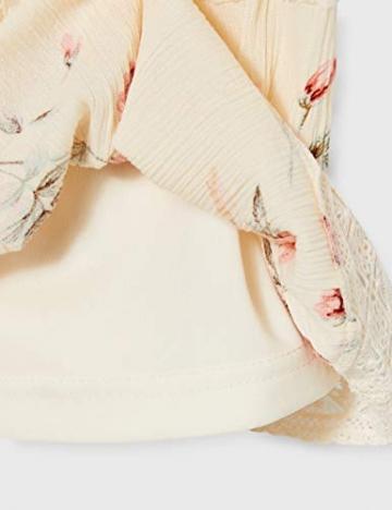 ONLY Damen ONLKARMEN Anne S/L Short Dress WVN NOOS Kleid, AOP:Rose Flower Creme Brûlée, 40 - 4