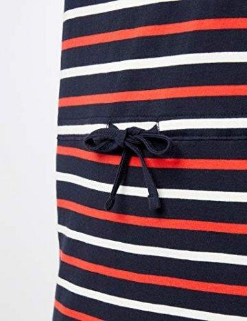 ONLY Damen Onlmay S/S Dress Noos Kleid, Mehrfarbig (Night Sky Stripes: Multi Flame Scarlet/Cl. Dancer), 42(Herstellergröße:XL) - 2