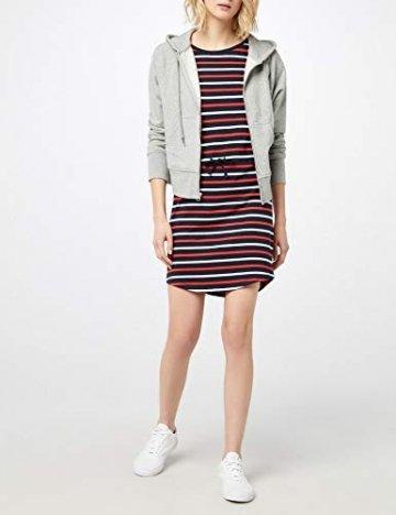 ONLY Damen Onlmay S/S Dress Noos Kleid, Mehrfarbig (Night Sky Stripes: Multi Flame Scarlet/Cl. Dancer), 42(Herstellergröße:XL) - 3