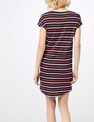ONLY Damen Onlmay S/S Dress Noos Kleid, Mehrfarbig (Night Sky Stripes: Multi Flame Scarlet/Cl. Dancer), 42(Herstellergröße:XL) - 4