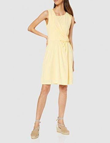 Tommy Hilfiger Damen BARBARA FLARE DRESS Kleid, Gelb (Golden Haze 793), XS (Herstellergröße: 6) - 2