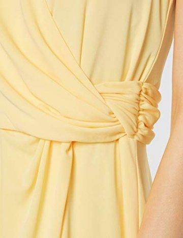 Tommy Hilfiger Damen BARBARA FLARE DRESS Kleid, Gelb (Golden Haze 793), XS (Herstellergröße: 6) - 3