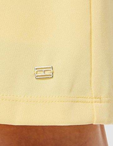 Tommy Hilfiger Damen BARBARA FLARE DRESS Kleid, Gelb (Golden Haze 793), XS (Herstellergröße: 6) - 4