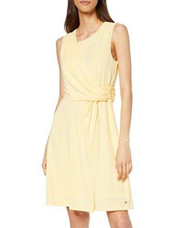 Tommy Hilfiger Damen BARBARA FLARE DRESS Kleid, Gelb (Golden Haze 793), XS (Herstellergröße: 6) - 1