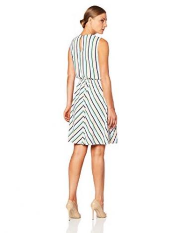 Tommy Hilfiger Damen Barbara Knot Dress NS Kleid, Weiß (Colorful Banker STP/Classic White 122), X-Small (Herstellergröße: 4) - 3