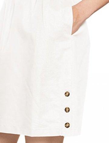 Tommy Hilfiger Damen MAIA DRESS SS Kleid,, per pack Weiß (CLASSIC WHITE 100), 40 (Herstellergröße: 10) - 3