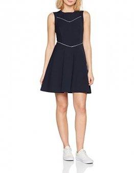 Tommy Hilfiger Damen Tallulah Ns Dress Kleid, Blau (Midnight 403), 38 (Herstellergröße: 8) - 1