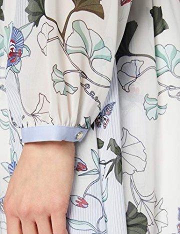 Tommy Hilfiger Damen WW0WW20594 Kleid, Weiß (Ithaca Floral 134), 38 (Herstellergröße: 8) - 3