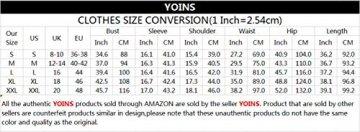 YOINS Sommerkleid Damen Kurz Schulterfrei Kleid Elegante Kleider für Damen Strandmode Langarm Neckholder A Linie Weiß-1 EU36-38(Kleiner als Reguläre Größe) - 8