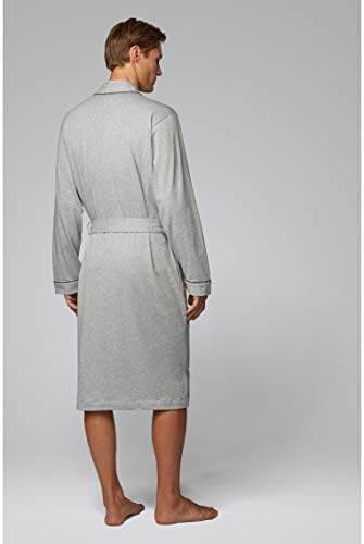 BOSS Herren Kimono BM Bademantel, Grau (Medium Grey 33), X-Large (Herstellergröße: XL) - 2