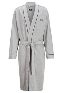 BOSS Herren Kimono BM Bademantel, Grau (Medium Grey 33), X-Large (Herstellergröße: XL) - 1