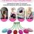 FIDECH Liebeskugeln Beckenbodentrainer für Frauen 6er set - Beckenbodentraining kugeln Silikon metall mit innenkugel Stärkung der Vaginalmuskulatur, Kegall Balls für Frauen - 3