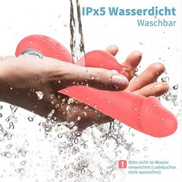 Handmassagegerät elektrisch schwankender IELI mit Wärmefunktion 42 ℃ hoch-freuqenz 7 Vibratoinskraftmuster kabellos wasserdicht PHS - 8