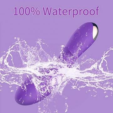 Handmassagegerät XenilSP Spiral-Gewinde-Texture mit 20 elektrischen Vibrationsmuster Silikon Wasserdicht USB Rechargeble PHS - 7