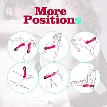 Kabelloser Massager Zilka Massagegerät mit 12 vibrationsmodi mit USB Aufladung Silikon Wasserdicht PHS - 6