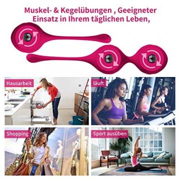 Liebeskugeln Kegel Balls Kugeln Beckenbodentrainer 3er Set Silikon Perfekt für Sie Frauen zum Beckenbodentraining Luvsex - 4