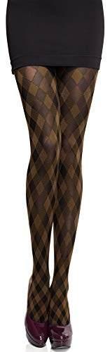 Merry Style Damen blickdichte Strumpfhose MS 317 60 DEN (Cappuccino, M (36-40)) - 1