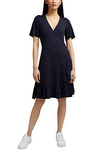ESPRIT Damen 031EE1E318 Kleid, 400/NAVY, M - 1