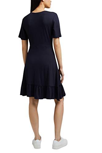 ESPRIT Damen 031EE1E318 Kleid, 400/NAVY, M - 2