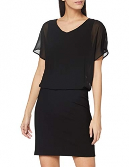 ESPRIT Damen 110EE1E320 Kleid, 001/BLACK, 38 - 1