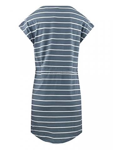 ONLY Damen Sommer Mini Kleid onlMAY S/S Dress 2er Pack Grösse XS S M L XL XXL Gestreift Schwarz 100% Baumwolle, Größe:XXL, Farbe:Blue Mirage Primo Stripe - 3