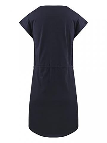 ONLY Damen Sommer Mini Kleid onlMAY S/S Dress 2er Pack Grösse XS S M L XL XXL Gestreift Schwarz 100% Baumwolle, Größe:XXL, Farbe:Blue Mirage Primo Stripe - 6