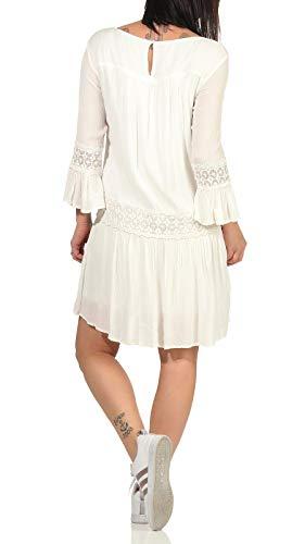 ONLY Female Kleid Ausgestelltes 40Cloud Dancer - 4