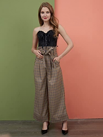 ShiyiUP Spitze Korsett Bauchweg Vintage Korsage Überbrust Damen Taillenformer Shaperwear Push UP - 9