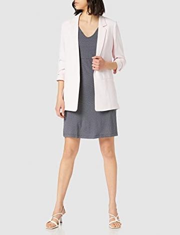 TOM TAILOR Damen 1024074 Jersey Kleid, 26025-Navy White Minimal Dot Print, 42 - 2