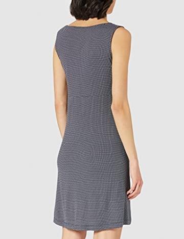 TOM TAILOR Damen 1024074 Jersey Kleid, 26025-Navy White Minimal Dot Print, 42 - 3
