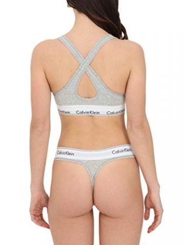 Calvin Klein Damen Bustier Bralette Lift BH, Grau (Grey Heather 020), M(89-94 cm) - 3