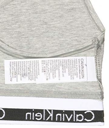 Calvin Klein Damen Bustier Dreieck BH Modern Cotton - Bralette, Grau (GREY HEATHER 020), M - 7