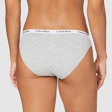 Calvin Klein Unisex BIKINI 3PK, LQ9 Dessous, Loyal/Feederstripeblack/Grey-Heather, XL - 4