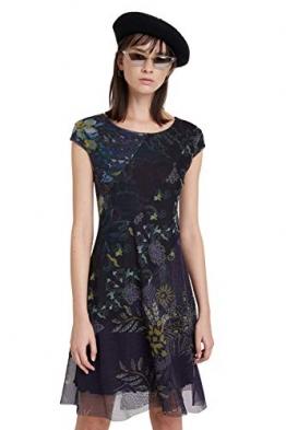 Desigual Womens Vest_Houston Casual Dress, Blue, S - 1