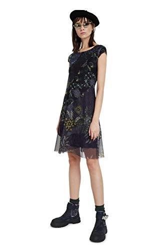 Desigual Womens Vest_Houston Casual Dress, Blue, S - 2