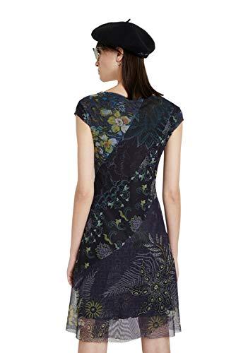 Desigual Womens Vest_Houston Casual Dress, Blue, S - 3
