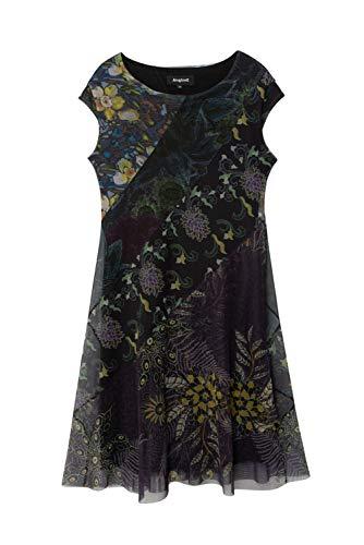 Desigual Womens Vest_Houston Casual Dress, Blue, S - 4