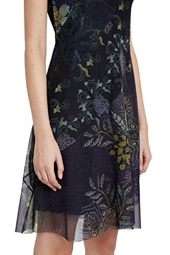 Desigual Womens Vest_Houston Casual Dress, Blue, S - 5