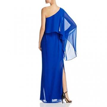 Laundry by Shelli Segal Damen Women's One Shoulder Popover Gown Formales Abendkleid, Vibrant Blue, 30 - 2