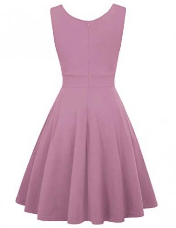 Petticoat Kleid elegant Swing Kleid Knielang cocktailkleider Retro Vintage Kleider CL698-14 M - 2