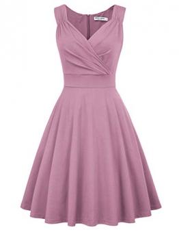 Petticoat Kleid elegant Swing Kleid Knielang cocktailkleider Retro Vintage Kleider CL698-14 M - 1