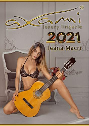 CALENDARIO 2021 ILEANA MACRI: LINGERIE AXAMI (Italian Edition) - 1