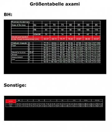 Sexy Halbschalen-PushUp BH FANCY von axami 70B - 5